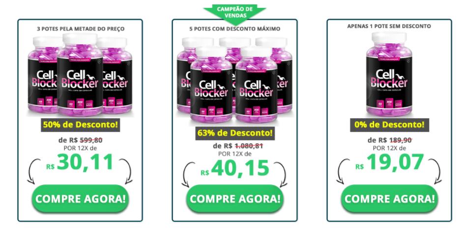 Preço Cell Blocker