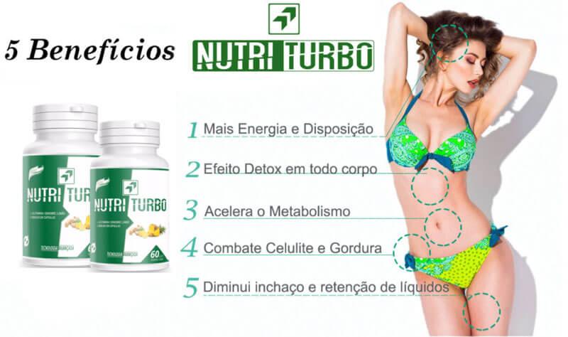 Benefícios do Nutri Turbo