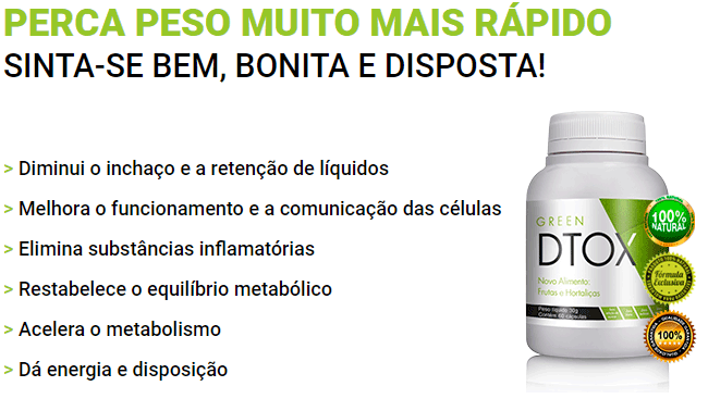 Benefícios Green Dtox