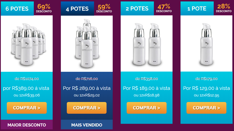Preço Lumiclear
